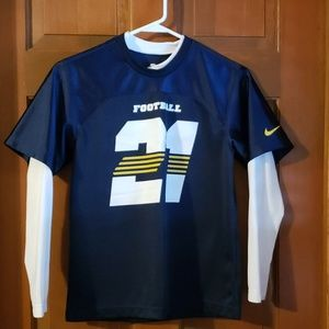 Nike jersey style long sleeve shirt